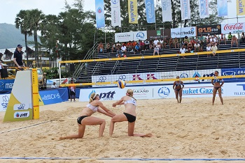 Player Volleyball Beach