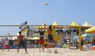 Sand volleyball skills and strategy