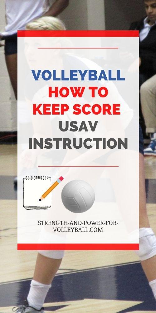 USAV Scorekeeping