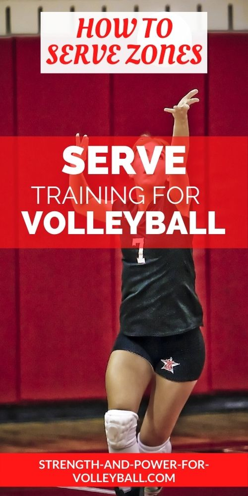 Serving a volleyball tips