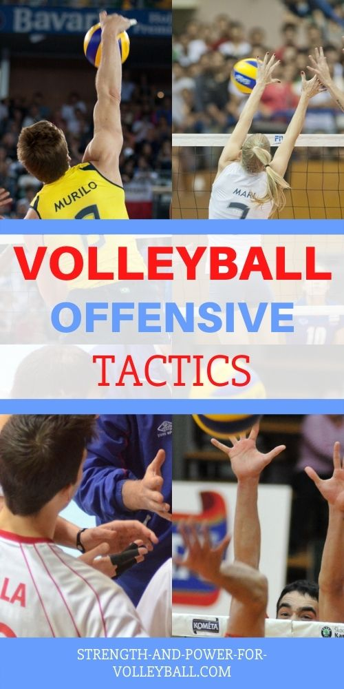 Tactics in Volleyball