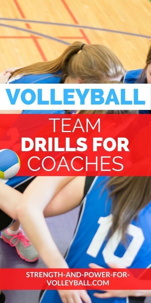 Team Drills for Pepper Volleyball