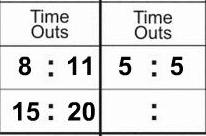 Usav scorekeeping methods for scoring usa volleyball time outs