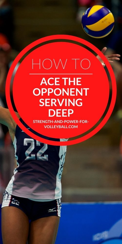 Volleyball Strategies for Serving