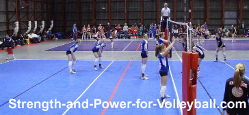 Volleyball strategies for blocking