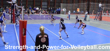 Volleyball strategies for digging