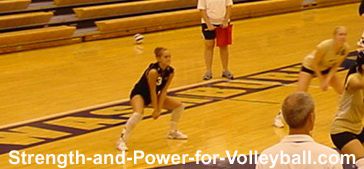 Linear Volleyball Passing
