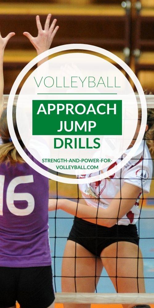 Volleyball Approach Jump Drills