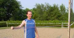 Workout exercise drills for volleyball practice