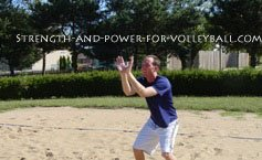 Volleyball tips for defense face dig