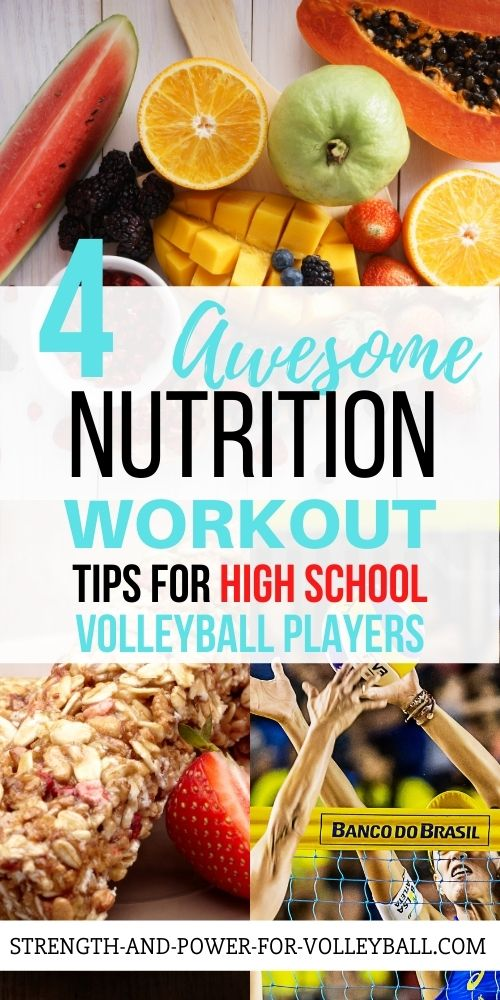 Volleyball Food for Tournaments
