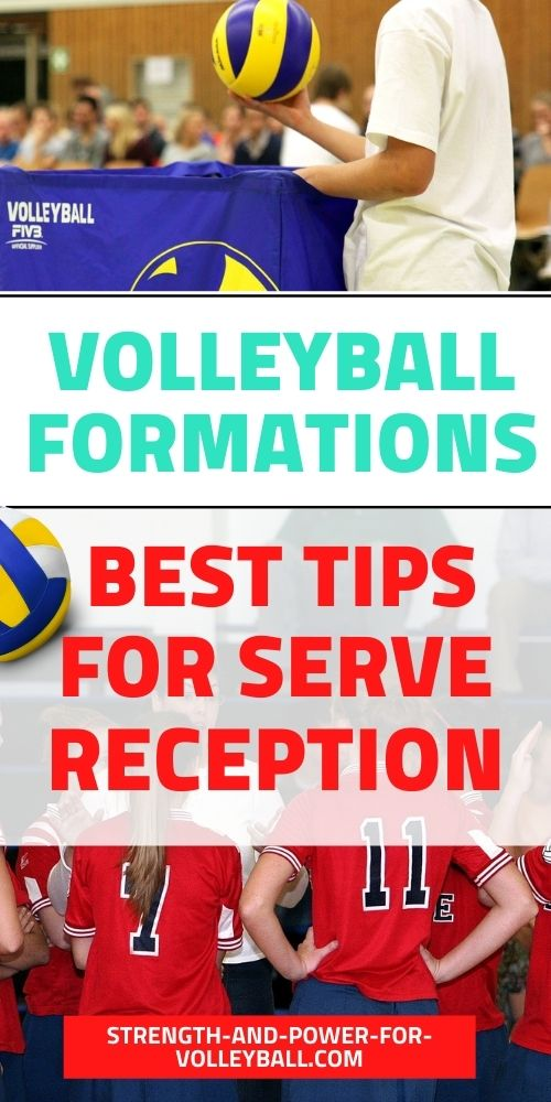Formations in Volleyball