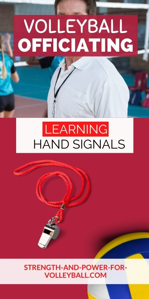 Hand Signals for Volleyball