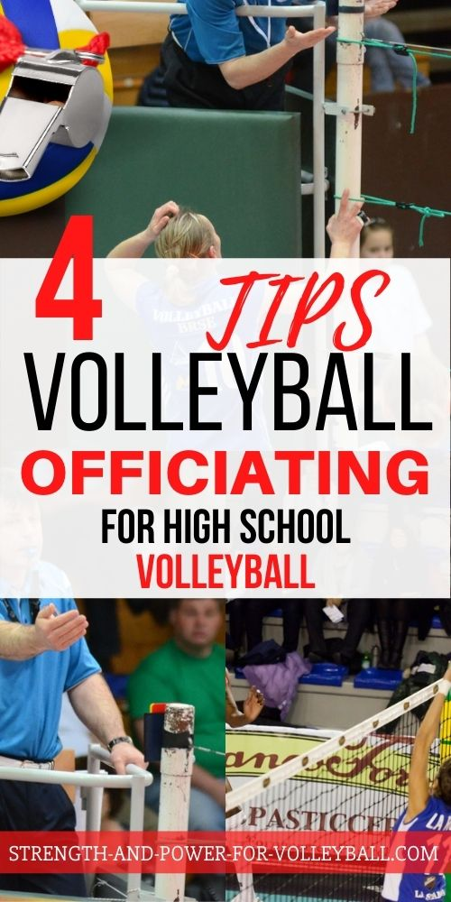How to Referee Club Volleyball