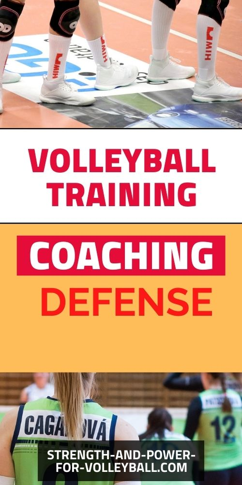 Man Up Defense for Volleyball