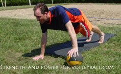 Volleyball Shoulder Strength Tips