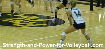 Forearm volleyball pass