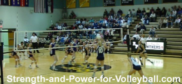 Volleyball Pass Tips