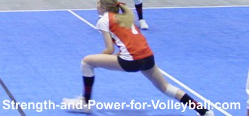 Defensive volleyball