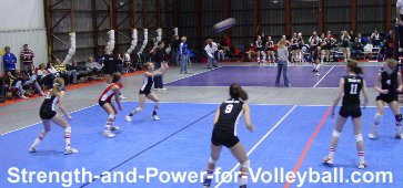Volleyball techniques for overhead passing