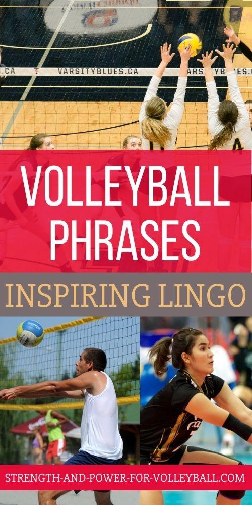 Volleyball Lingo