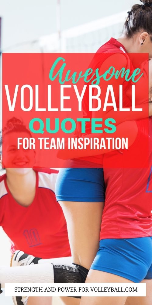 Volleyball Quotes for Success