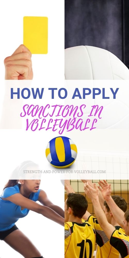 How to Apply Sanctions in Volleyball