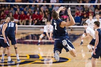 Volleyball Jump Serving