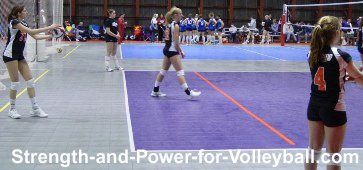 Volleyball strategies for serving accuracy and consistency