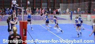Volleyball Backset