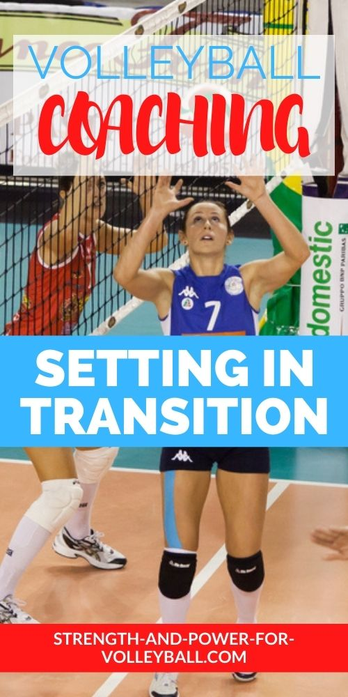 Volleyball Setting Learning Transition Setting