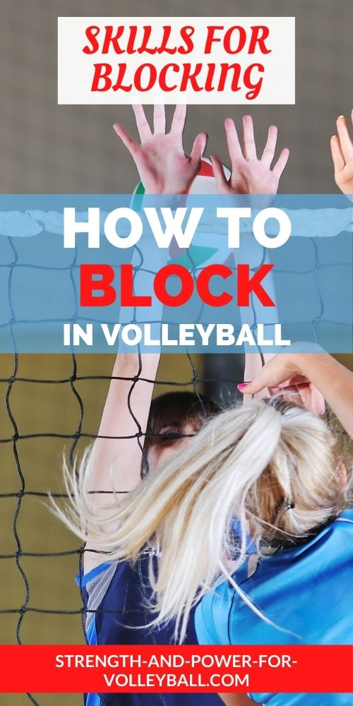Blocking Volleyball Tips