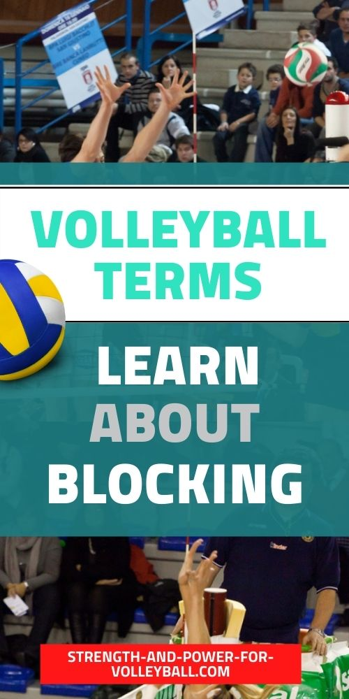 Volleyball Blocking Terms