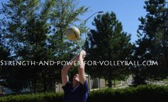 Volleyball tips for defense tomahawk