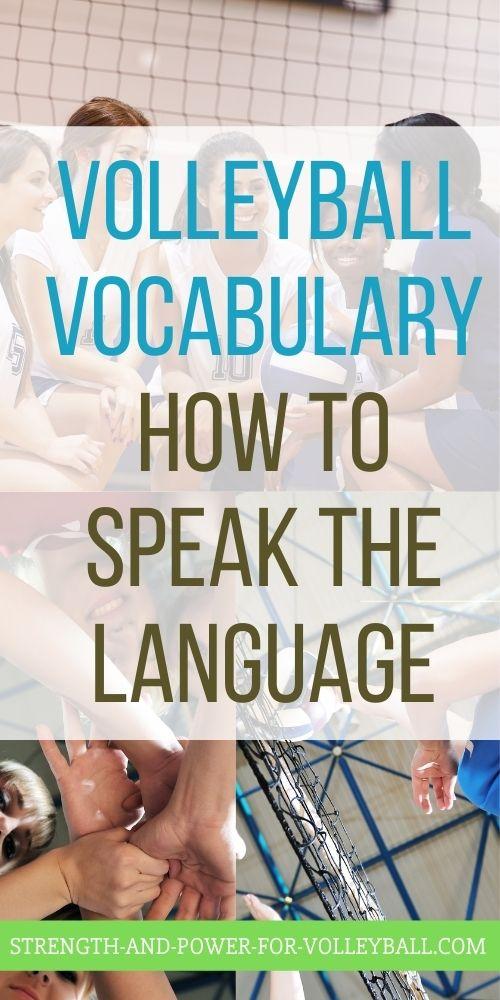 Volleyball Vocabulary