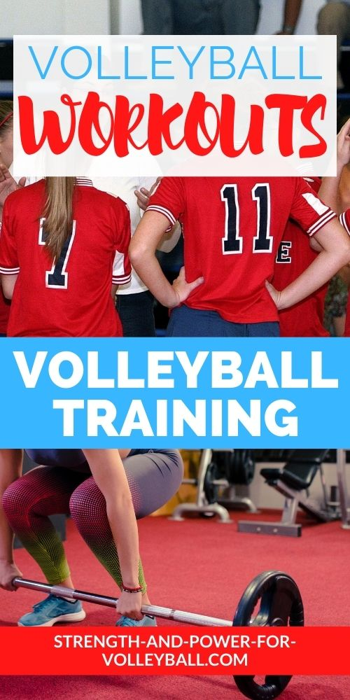 Weight Training Tips for Volleyball