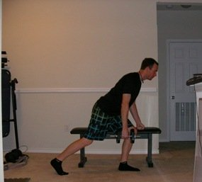 Volleyball workout program row