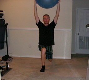 Volleyball workout program overhead plate