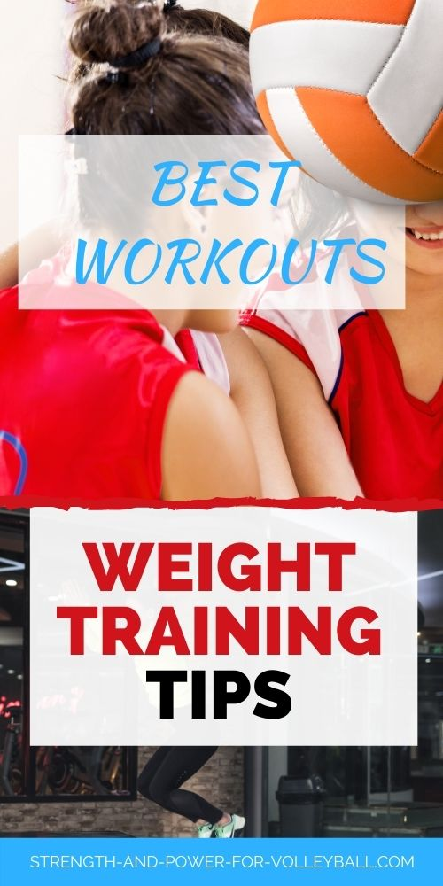 Weight Training Volleyball Tips