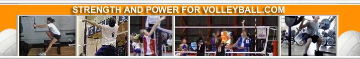 logo for strength-and-power-for-volleyball.com